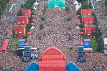 14.06-17.07.2018<br>Фестиваль FIFA FAN FEST 2018 Москва/Сочи